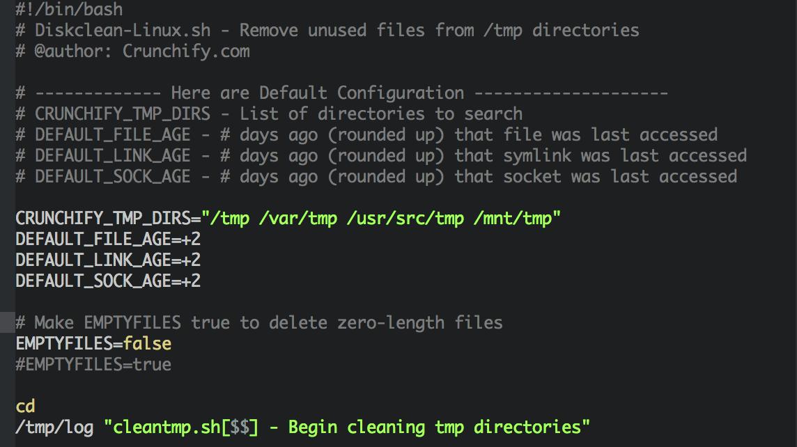 آموزش حیاتی پاک کردن  پوشه tmp/ در لینوکس CentOS