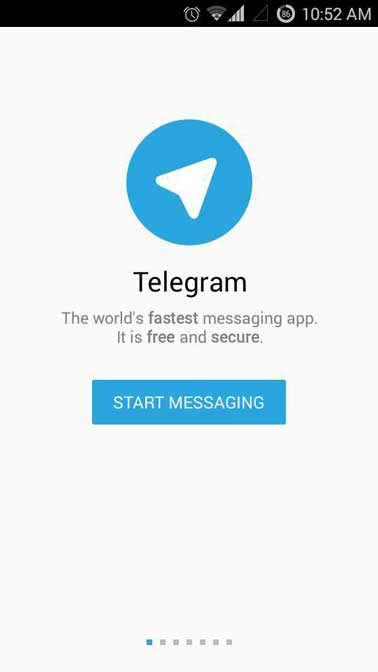 Telegram-start-messaging